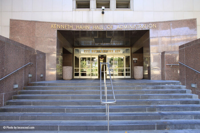 Kenneth Hahn Hall of Administration Los Angeles County
