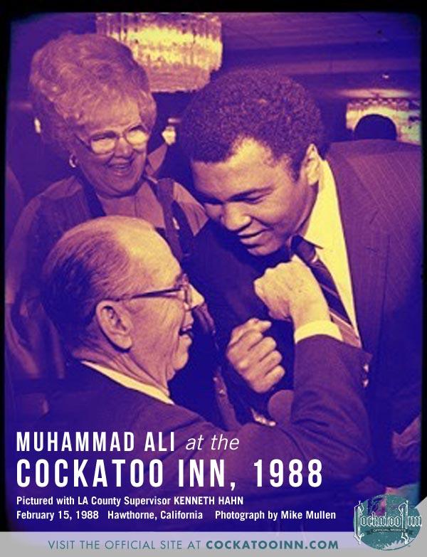Kenneth Hahn Muhammad Ali Cockatoo Inn