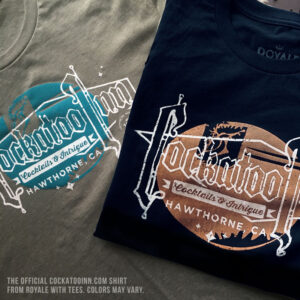 The Official Cockatoo Inn T-shirt from Royale with Tees™